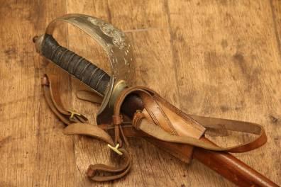 Сабля офицерская пехотная образца 1895/1897 гг. Англия
