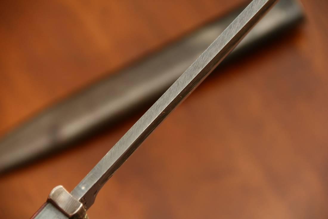 Фото Штык карабина Mauser k98, 43 fze, парные номера, 1943 год