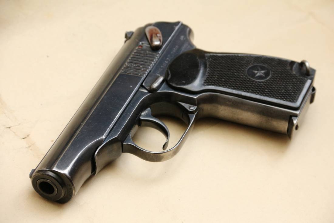 Фото Охолощенный пистолет Макарова «ПМ» 1949 года №МП1042