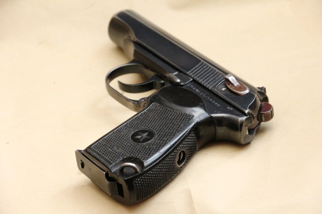 Фото Охолощенный пистолет Макарова «ПМ» 1949 года №МП1075
