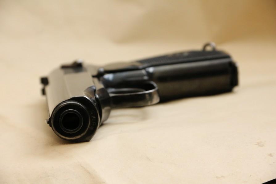 Фото Охолощенный пистолет Макарова «ПМ» 1949 года №МП975