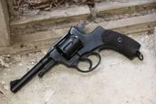 Револьвер Наган 1938 года №СБ104 «Служба Безопасности»
