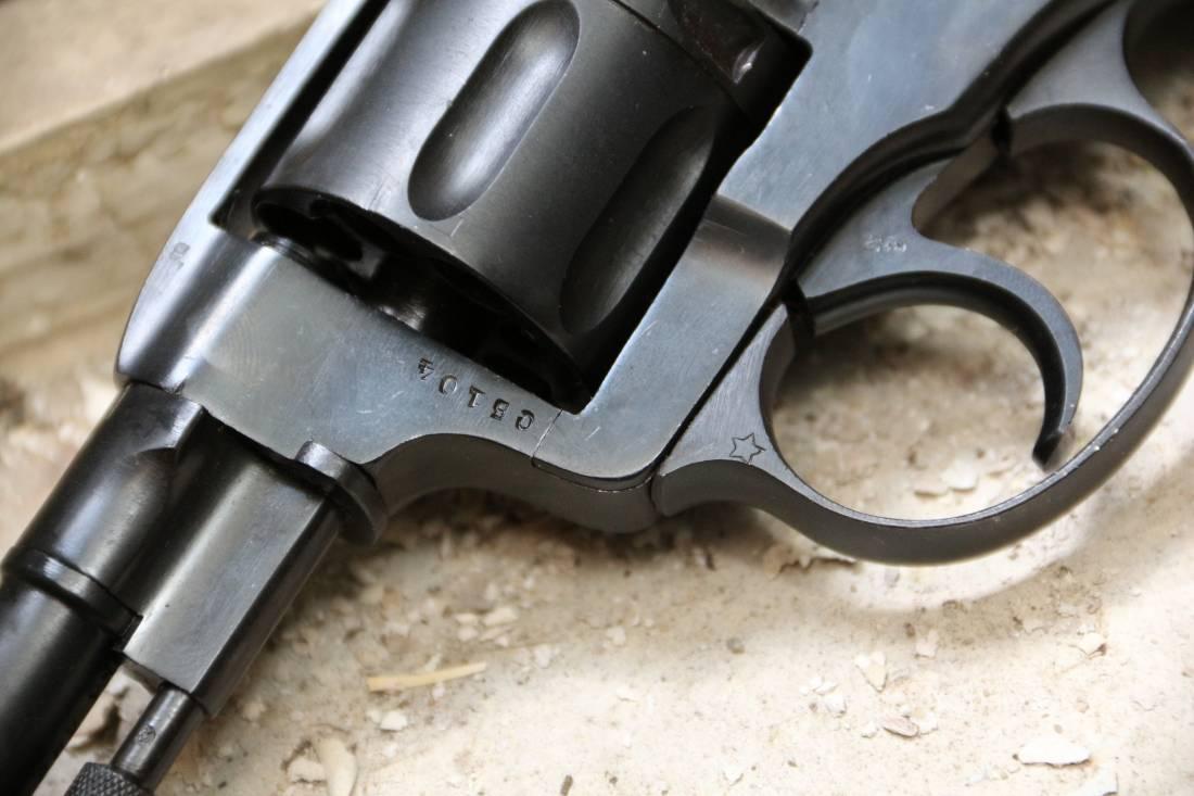 Фото Револьвер Наган 1938 года №СБ104 «Служба Безопасности»