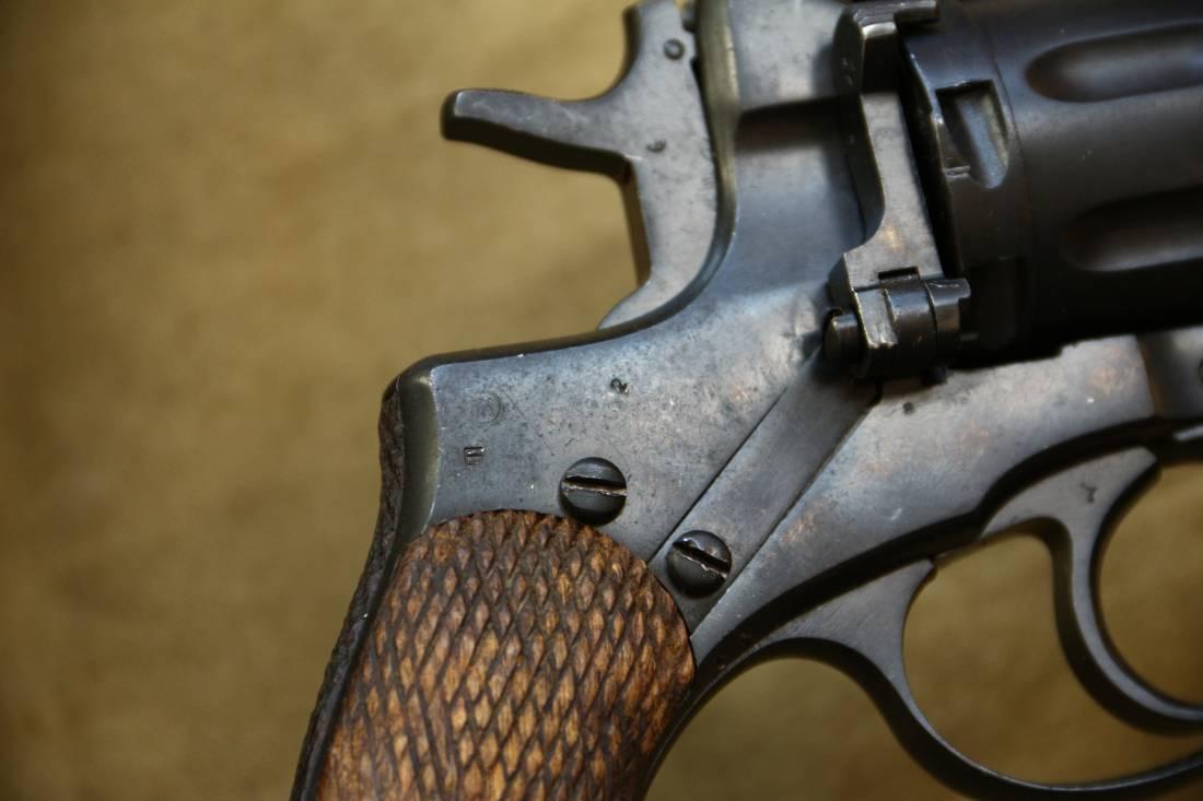 Фото Револьвер Наган 1938 года №ХТ241, расстрельный год
