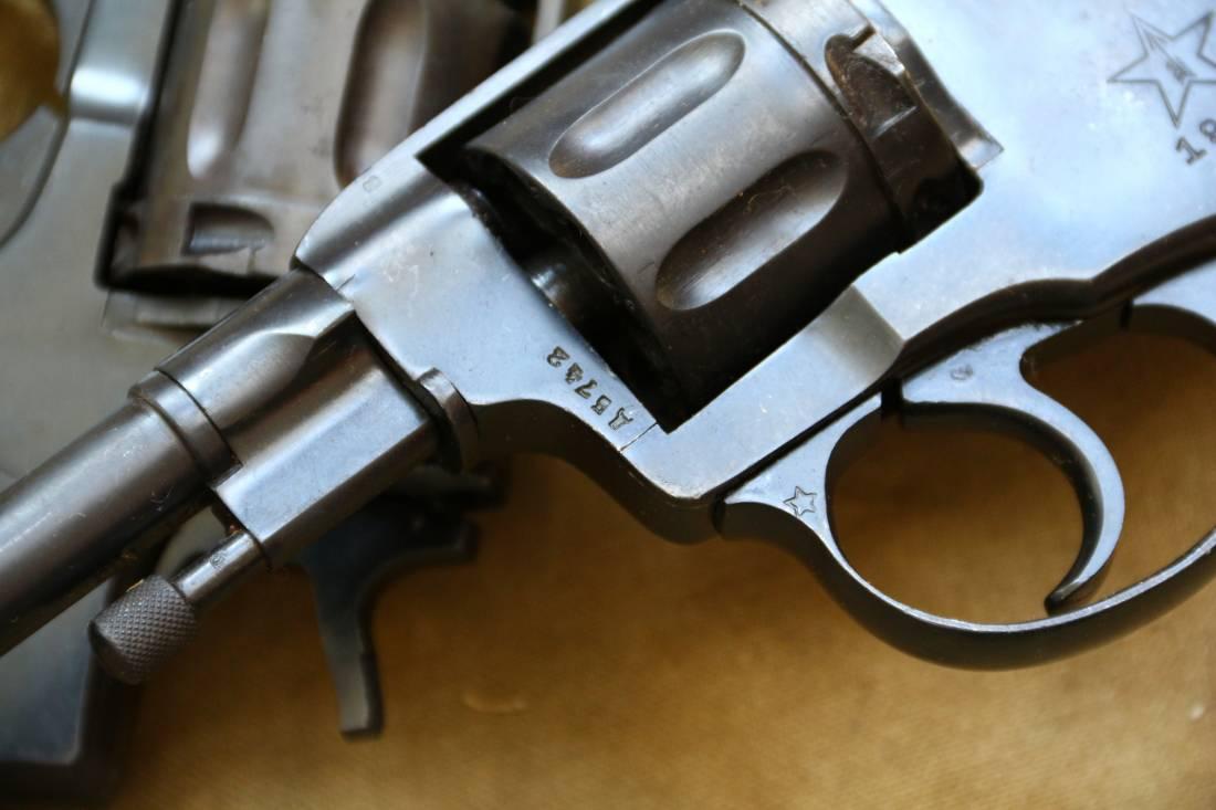 Фото Револьвер Наган 1939 года №ДВ742