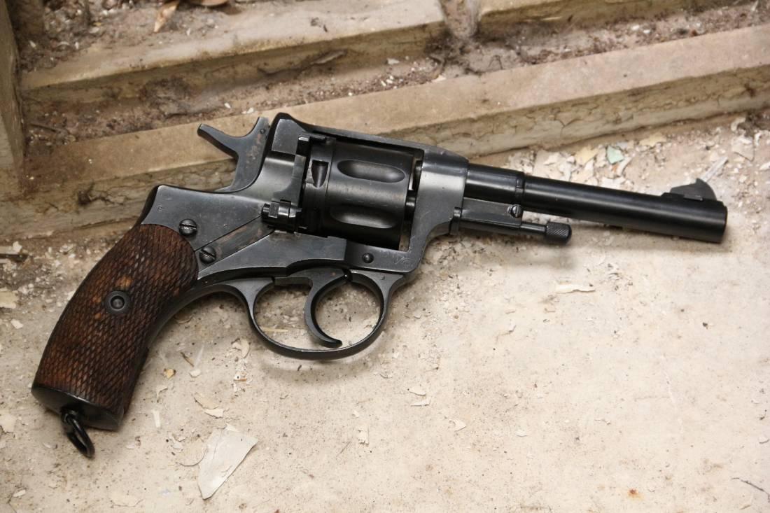 Фото Револьвер Наган 1938 года №СГ419