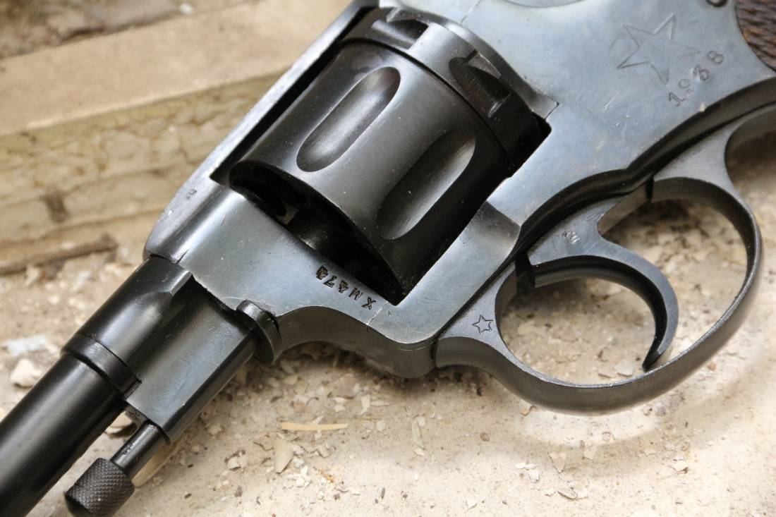 Фото Револьвер Наган 1938 года №ХМ474