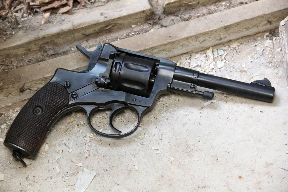 Фото Револьвер Наган 1944 года №ПП586