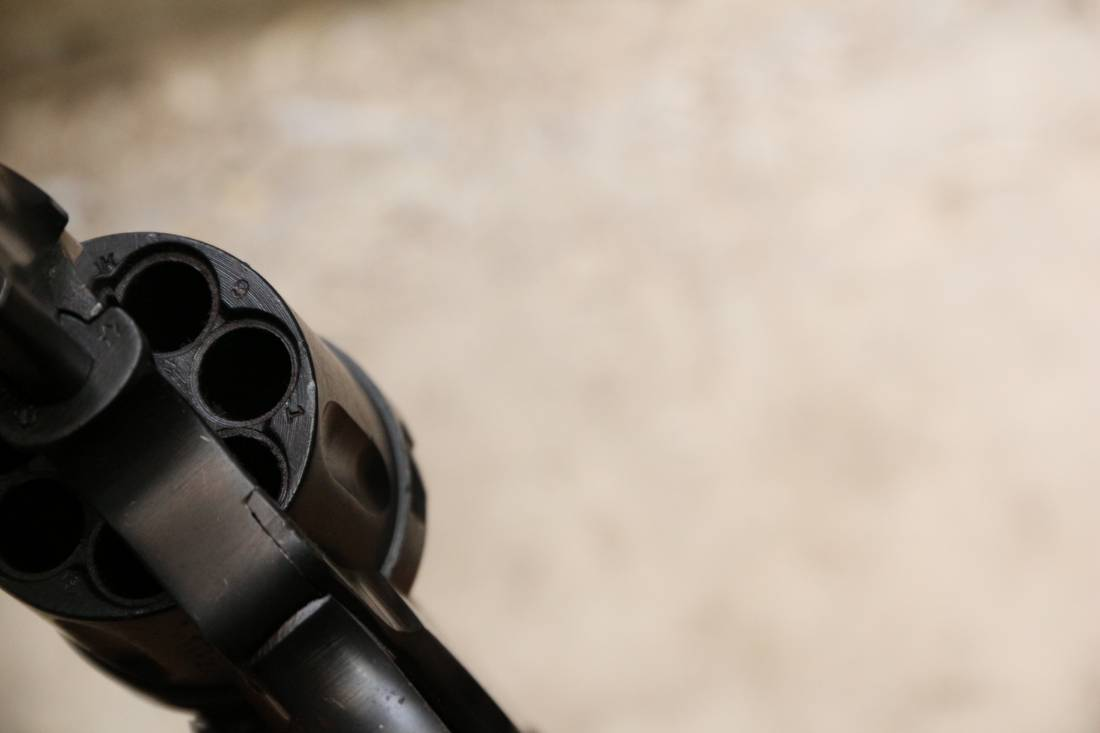 Фото Револьвер Наган 1938 года №СК919 «Следственный Комитет»