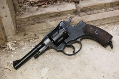 Револьвер Наган 1938 года №УР986 «Уголовный Розыск»