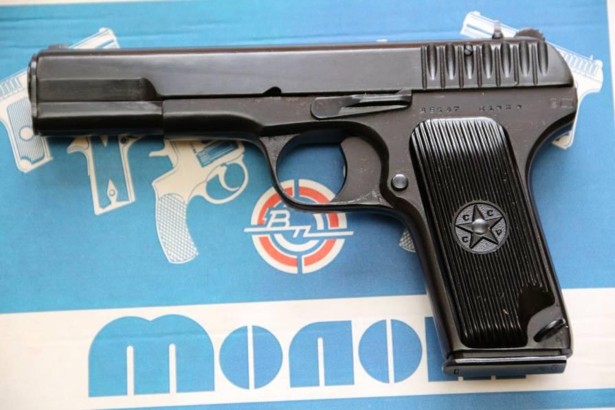 Фото Сигнальный пистолет ТТ-С 1939 года №АЕ 547