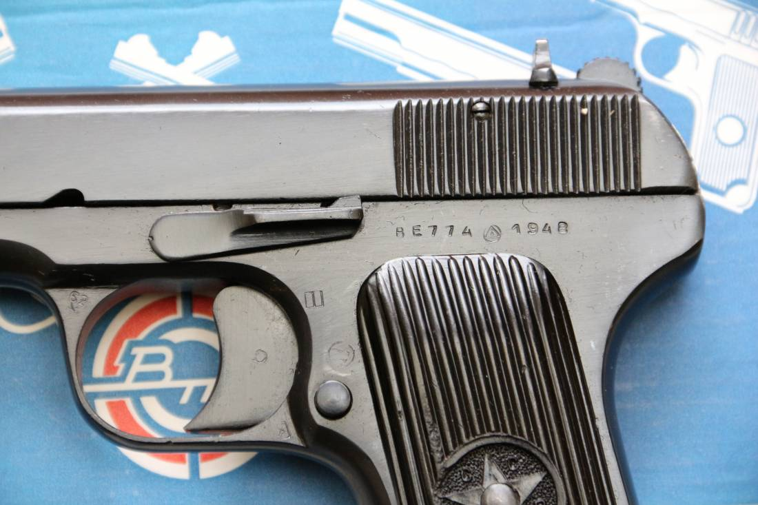 Фото Сигнальный пистолет ТТ-С 1948 года №ВЕ 774