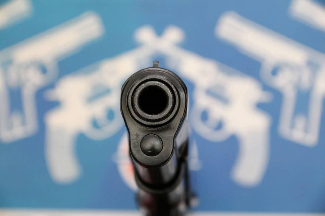 Фото Сигнальный пистолет ТТ-С 1938 года №НТ 123