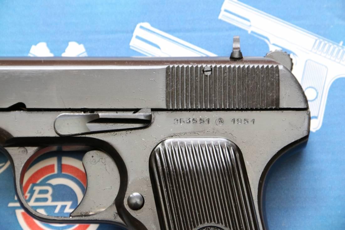 Фото Сигнальный пистолет ТТ-С 1951 года №ЗБ 3551