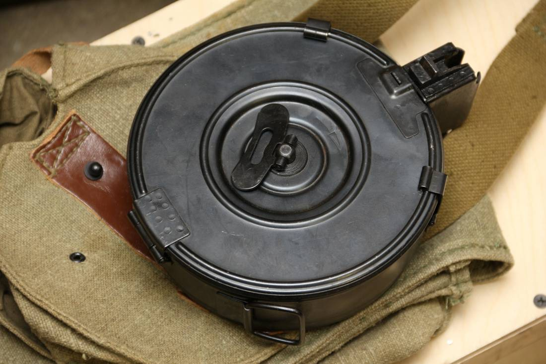 Фото Бубен к китайскому автомату Тип 56 (аналог российского Калашникова)