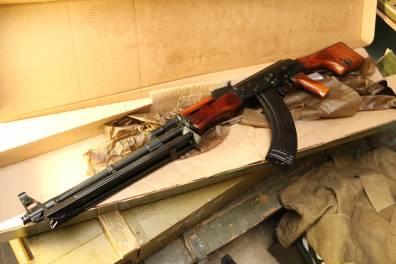 Охолощенный пулемет Калашникова РПКН ВПО-926 1973 года, №ВВ7441, номерной
