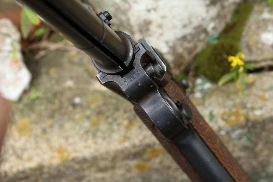 Фото Пистолет Luger Parabellum P-08 «Артиллерист» 1917 год, завод DWM