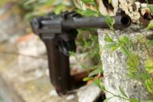 Пистолет Luger Parabellum P-08 «Артиллерист» 1917 год, завод DWM