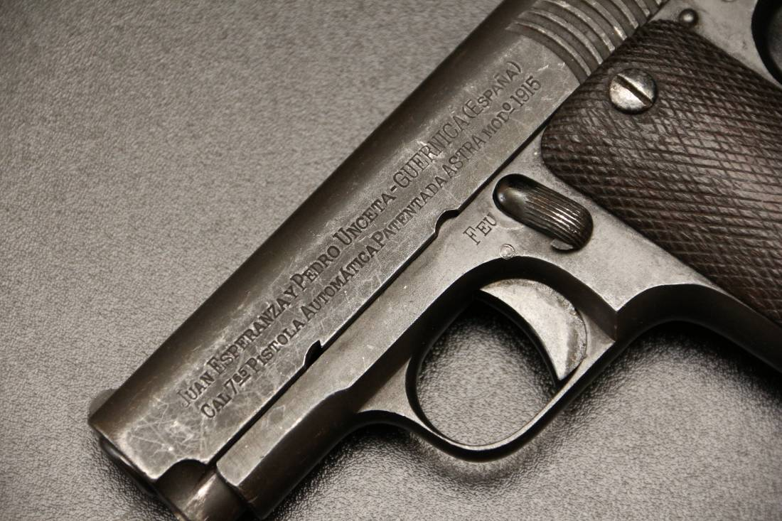 Фото Пистолет Astra m1915 типа Rubi #50870