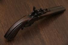 Двуствольный пистолет фирмы J. P. Бельгия 1875-85 гг