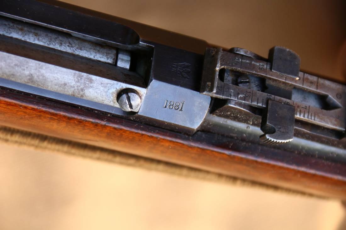 Фото Царская винтовка Бердан 2 №6822 с родным штыком; ультра-роскошь