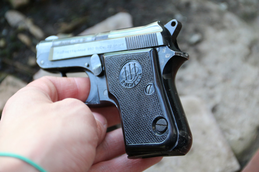 Фото Пистолет Beretta mod. 950b cal.22 sport