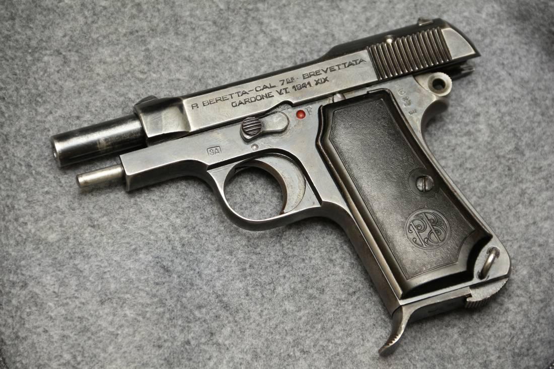 Фото Beretta m1934 #476114, клеймо финской армейской приемки;