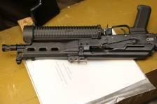 Пистолет-пулемет «Бизон» со шнековым магазином №084011