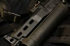 Пистолет-пулемет «Бизон» со шнековым магазином №084030 «опытная версия»
