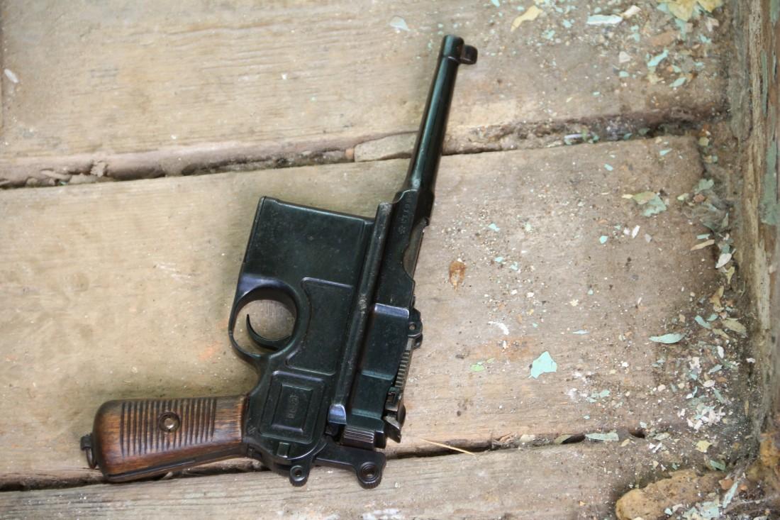 Фото Пистолет Mauser Bolo «Большевик»  #566113