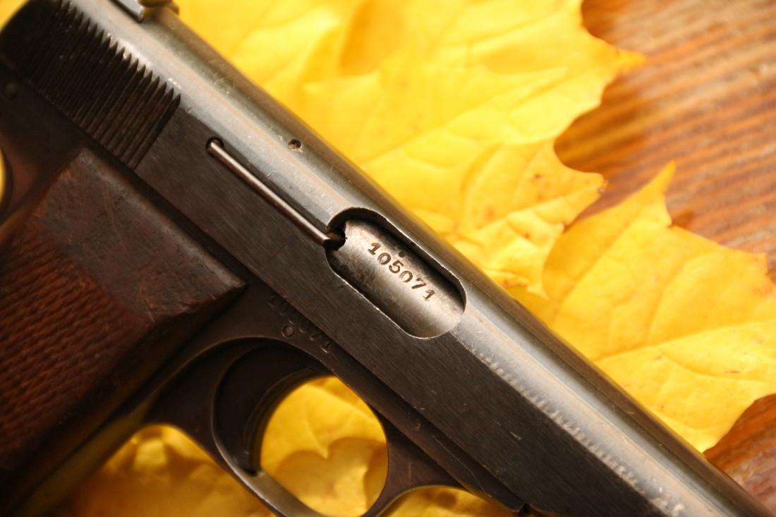 Фото Пистолет Browning FN1922 #105071 военной приемки