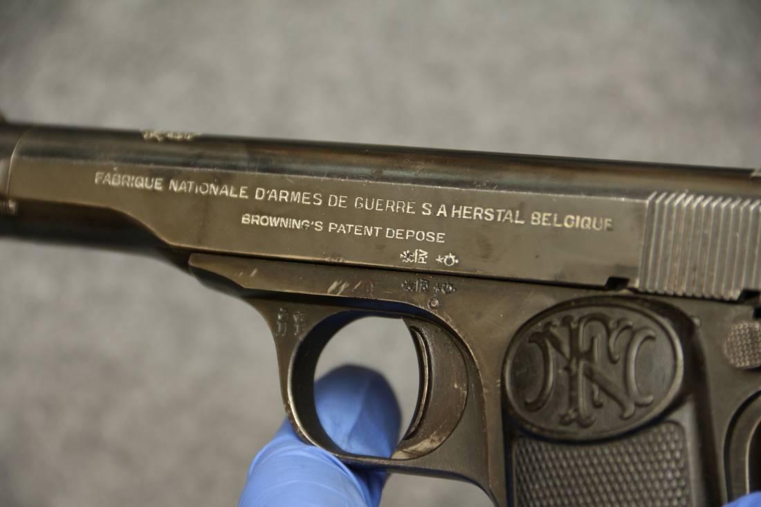 Фото Browning FN1922 #69072, сербский заказ;