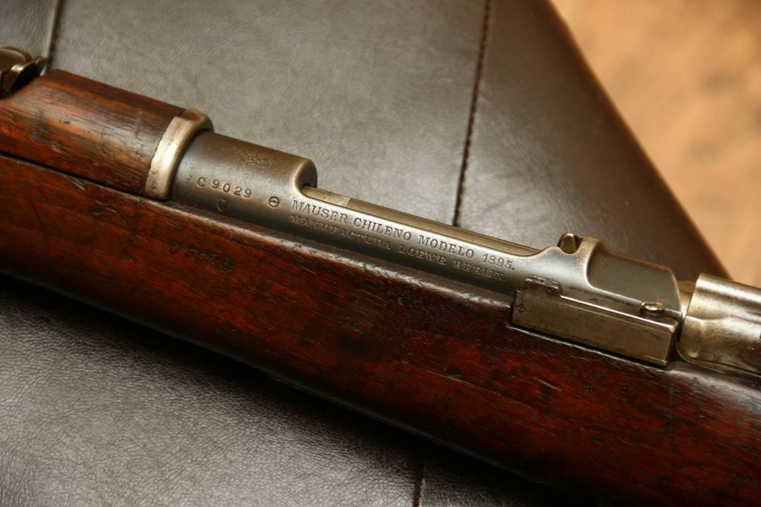 Фото Карабин Mauser Chileno Modelo 1895, 1 тип, ранний, №C9029