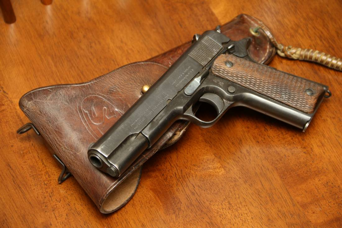 Фото Colt 1911, №79289, русский заказ