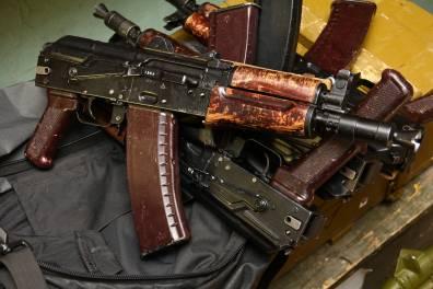 Автомат АКС-74У МГВ-1 «Думми» №883309, 2007 год деактива
