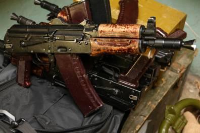 Автомат АКС-74У МГВ-1 «Думми» №345219, 2007 год деактива
