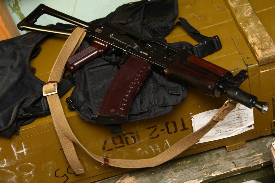 Фото Автомат АКС-74У МГВ-1 «Dummy», 2008 год деактива