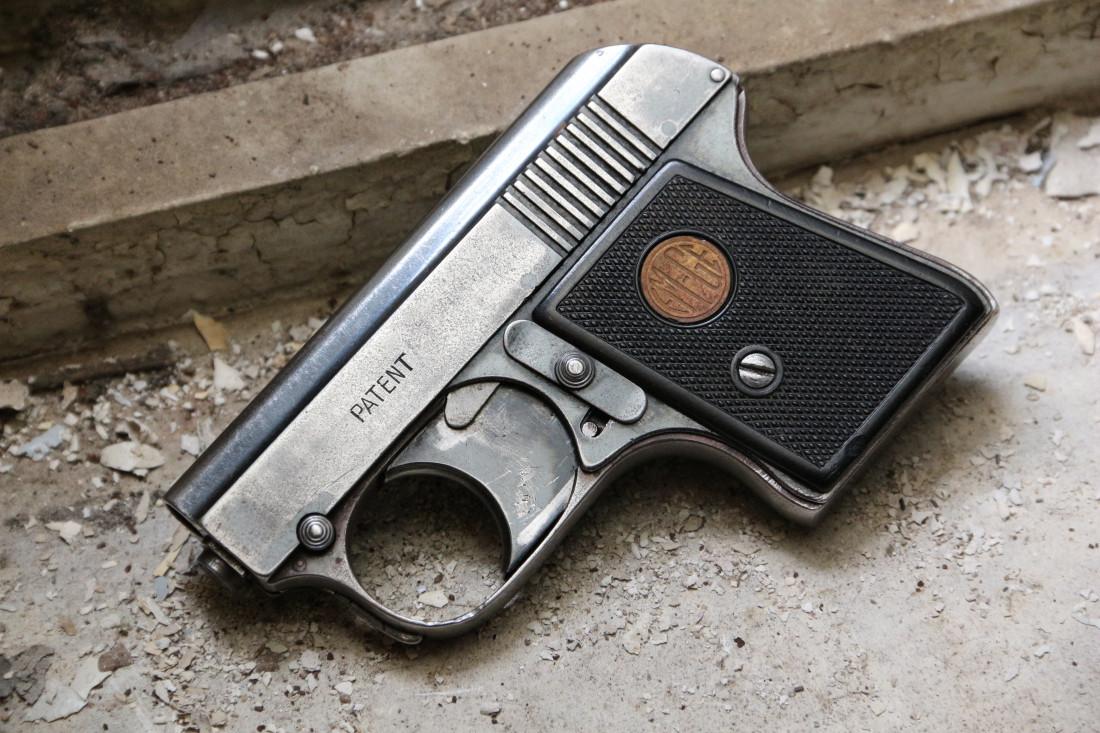 Фото Стартовый довоенный немецкий пистолет Em-Ge