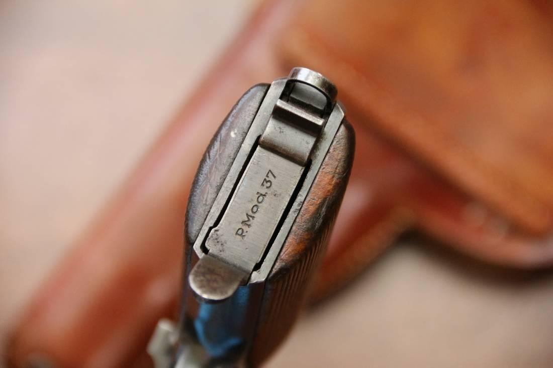 Фото Пистолет Фроммер FEG М37 №85969, коллекционное состояние