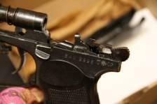 Охолощенный пистолет Иж 71, №9998