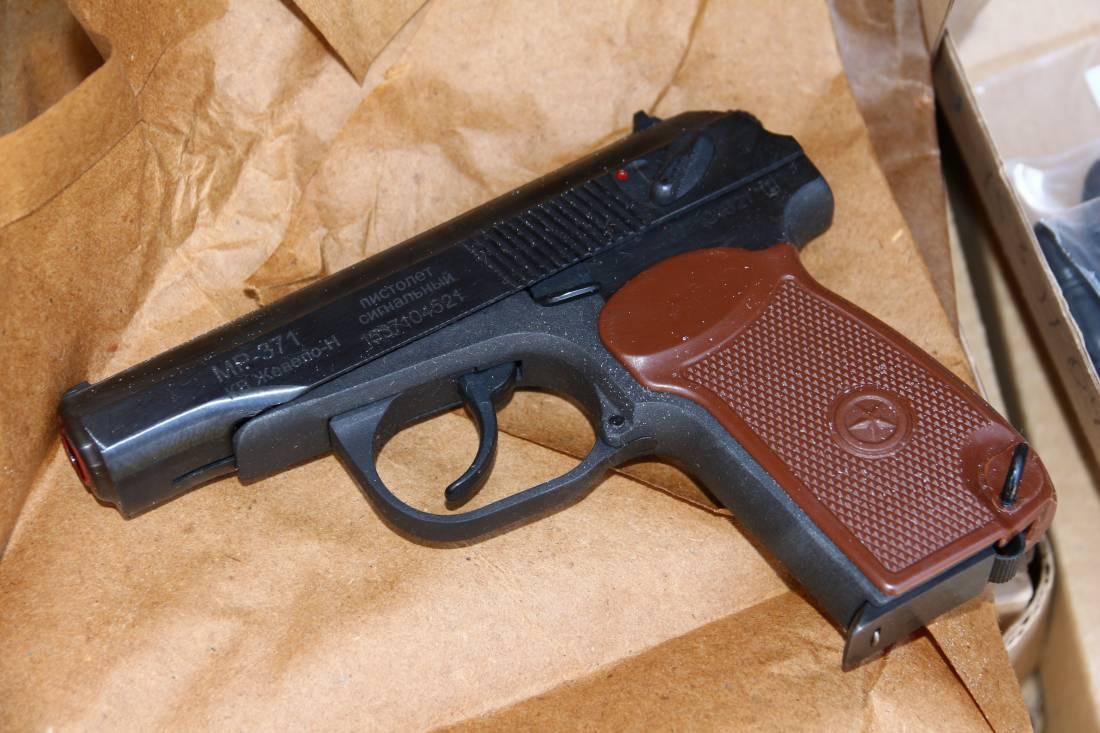Фото Сигнальный пистолет МР-371 2015 год выпуска