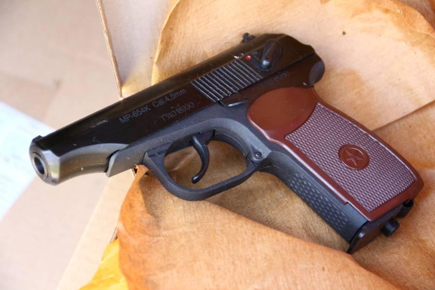 Фото Пневматический пистолет МР-654к 2014 год выпуска