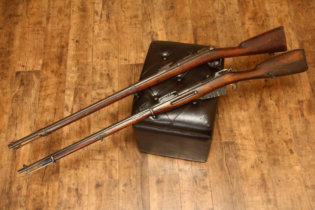 Фото Французская винтовка Gra mle 1874, №24244, 1878 год выпуска