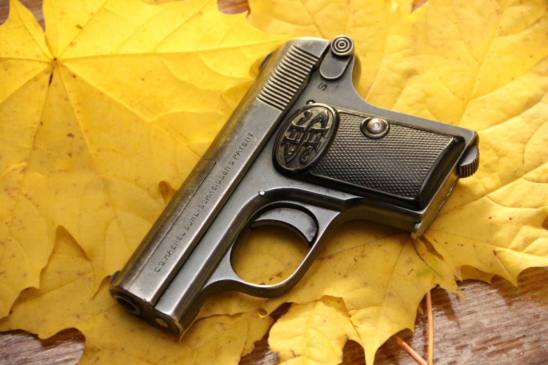 Фото Жилетный пистолет Haenel SUHL-Shmeisser #97461