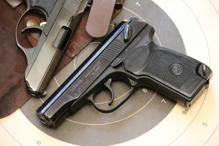 Фото Пистолет Макарова IJ70-18 №ВАТ3756, экспортный вариант