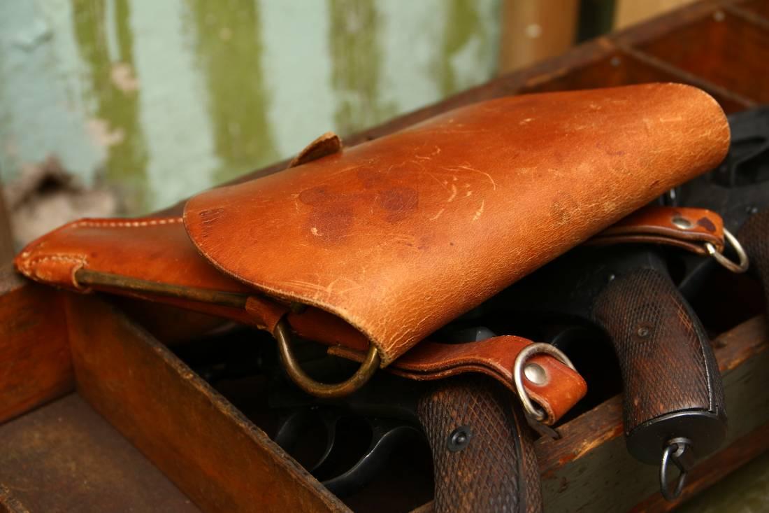 Фото Довоенная кобура к револьверу Наган 1930-41гг
