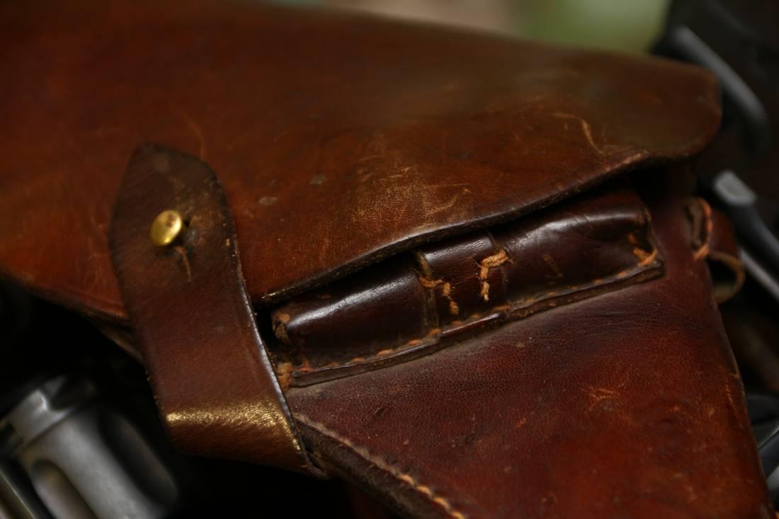 Фото Довоенная кобура к револьвера Наган 1936 года
