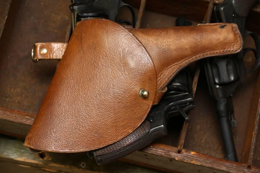 Фото Военная складская кобура к револьверу Наган 1941-45гг