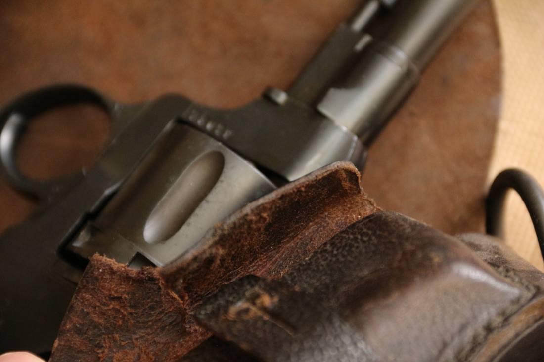 Фото Кобура к револьверу Наган, военный выпуск