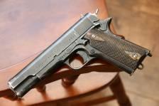 Норвежский пистолет Kongsberg m1914 «Kongsberg Colt» 1941 год #25994